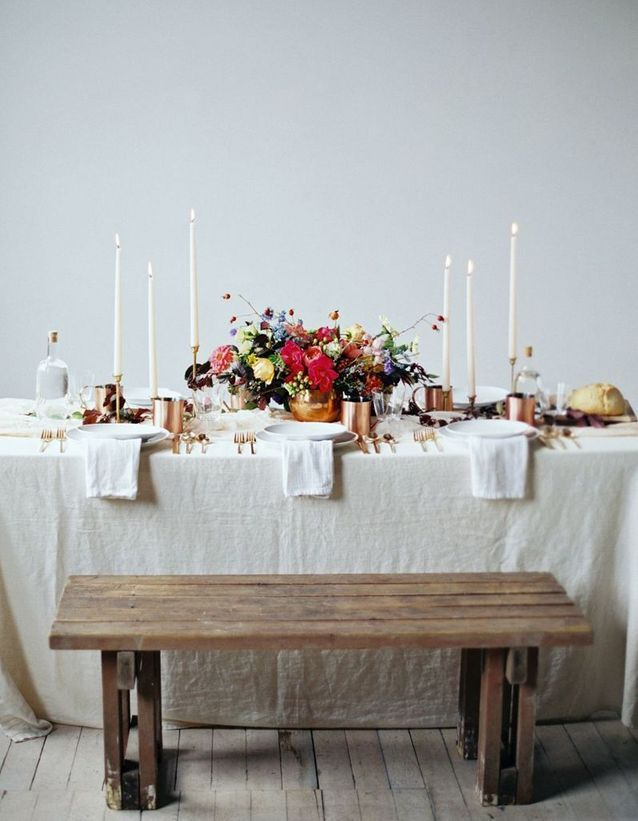 10 inspiraciones decorativas para una mesa de Nochevieja el 31 de Diciembre